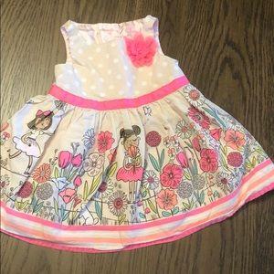 Pink Cherokee little girls dress
